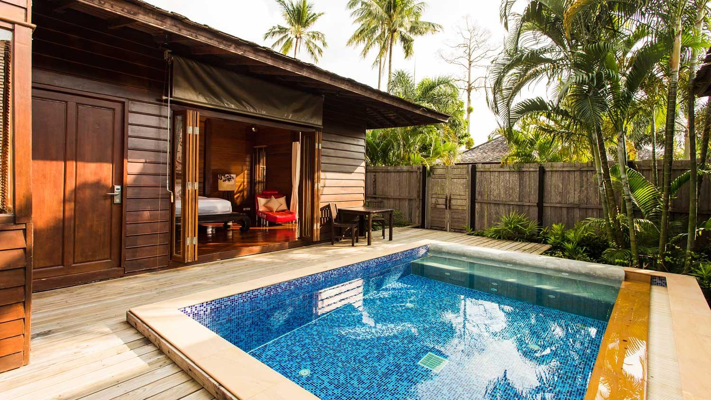 Photo gallery resort kohchang gajapuri resort kohchang for Private pool design